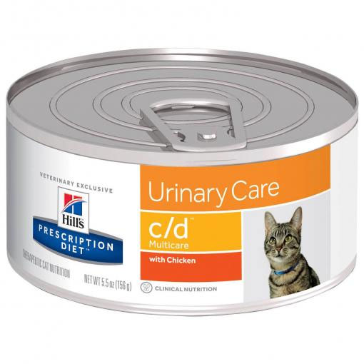 Hill's Prescription Diet c/d Multicare Urinary Care Canned Cat Food 156g
