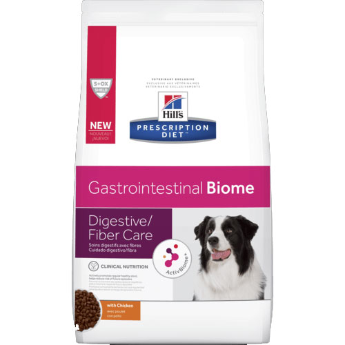 Hill's Prescription Diet Gastrointestinal Biome Digestive/Fiber Dry Dog Food