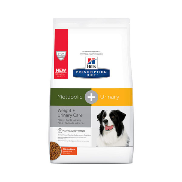 Hill's Prescription Diet Metabolic Plus Urinary Dry Dog Food