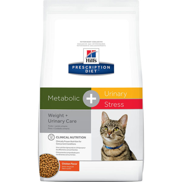 Hill's Prescription Diet Metabolic Plus Urinary Stress Dry Cat Food