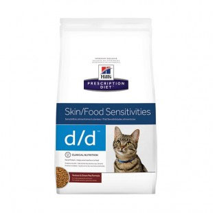 Hill's Prescription Diet d/d Skin/Food Sensitivities Care Dry Cat Food 1.6kg