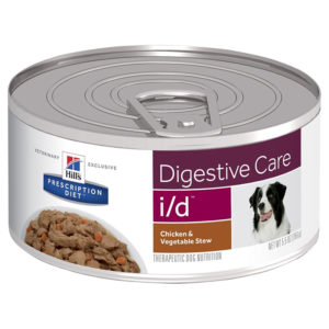 Hill's Prescription Diet i/d Digestive Care Chicken & Vegetable Stew Dog Food 156g