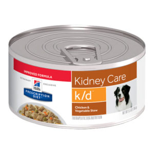 Hill's Prescription Diet k/d Kidney Care Chicken & Vegetable Stew Dog Food 156g