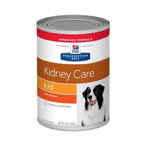 Hill's Prescription Diet k/d Kidney Care with Chicken Dog Food 370g