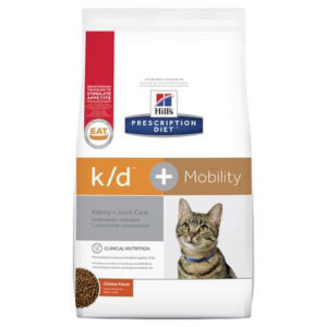 Hill's Prescription Diet k/d Plus Mobility Care Dry Cat Food