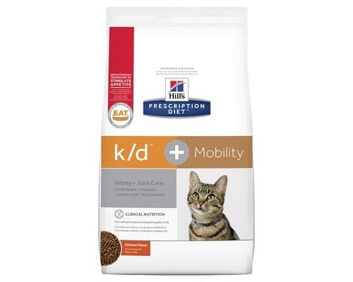 Hill's Prescription Diet k/d Plus Mobility Care Dry Cat Food