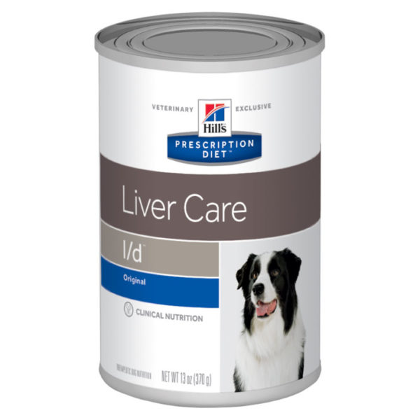 Hill's Prescription Diet l/d Care Dog Food 370g