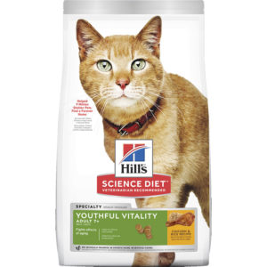 Hill's Science Diet Youthful Vitality Senior Adult 7+ Cat Dog Food