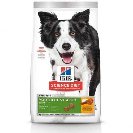 Hill's Science Diet Youthful Vitality Senior Adult 7+ Dry Dog Food