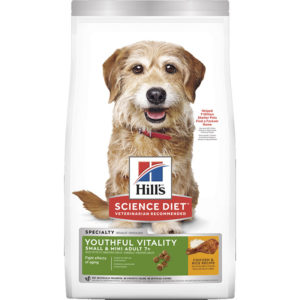 Hill's Science Diet Youthful Vitality Small & Mini Senior Adult 7+ Dry Dog Food