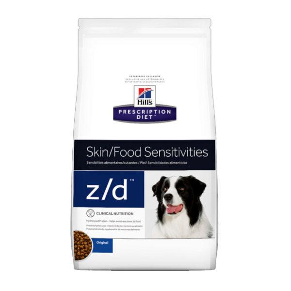 Hills z/d Dog Food