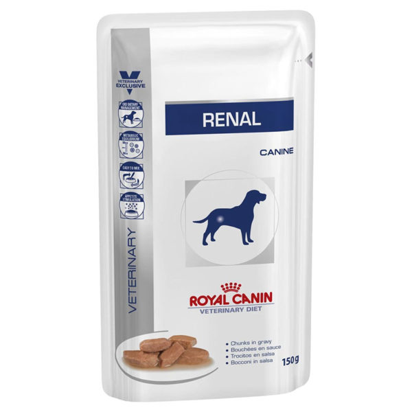 Royal Canin Renal Dog Food 10 x Pouches